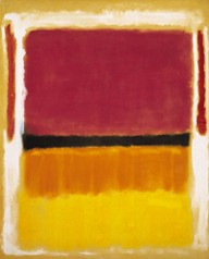 Mark Rothko - Red, Orange, Tan, and Purple