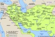 گستره امپراتوری ساسانی