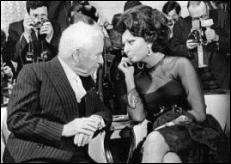 Charles Chaplin – Sophia Loren
