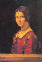 Potrait of a Lady, by da Vinci