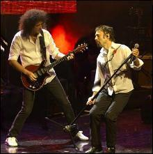 Brian May , Paul Rodgers