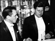 Sinatra and J.F. Kennedy