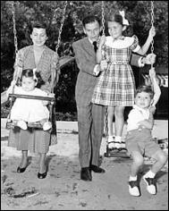 Sinatra and his family
