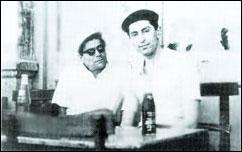 حسین تهرانی و داریوش صفوت