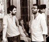 علی حاتمی در کنار حسین علیزاده