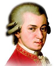 Wolfgang Amadeus Mozart , 1756 - 1791