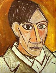 پابلو پیکاسو ، چهره خود نقاش