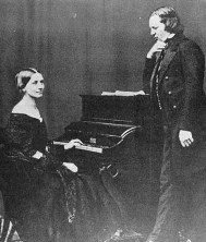 روبرت شومان و همسرش کلارا ویک