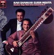 راوی شانکار و زوبین مهتا رهبر هندی-ایرانی ارکستر