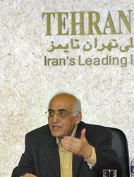محمد سریر در  نشست پایگاه های مجازی موسیقی کلاسیک ایران در خبرگزاری مهر (تصویر از مهر)