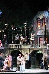 صحنه ای از اپرای لا بوهم