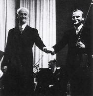 یهودی منوهین در کنار فورت ونگلر