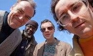 از چپ: چارلز هایوارد، پت توماس, جان کاکسون و الکسیس تیلور