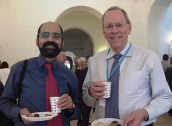 تیموتی رایس و محمدرضا آزادهفر، سال 2014