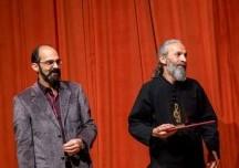 شهرام صارمي و محمدرضا آزاده فر تصوير از علي چشاني گير (مجله موسيقي ايرانيان)