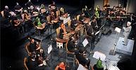 نمایی از کنسرت ارکستر سازهای ملی  <br> تالار وحدت 1394