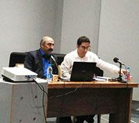 کیوان آقامحسنی و هوشنگ فراهانی