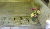 مقبره نورعلی برومند در گورستان ظهیرالدوله  <br> (تصویر از وبلاگ iranutopia51.blogspot.com)