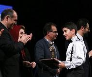 اهدای جوایز در جشنواره نوای خرم <br>(تصویر از باشگاه خبرنگاران پویا)