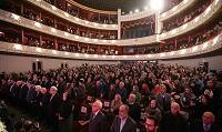 جشن صدسالگی هنرستان در تالار وحدت<br> (تصویر از خبرگزاری تسنیم)