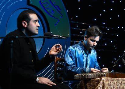 مسعود نجفی و رامین بحیرایی